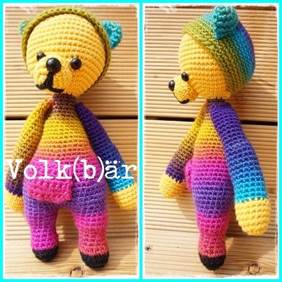 Volk(b)är Amigurumi Freebie - Häkelanleitung Anleitung DIY Häkeln gratis crochet pattern free Amigurumi