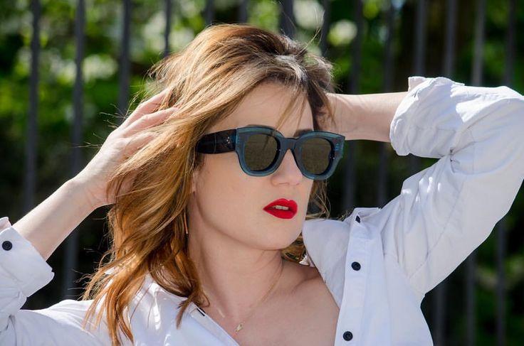"""""""Mi piace"""": 1,543, commenti: 11 - M A T R Y O S H K A . G (@matryoshka.g) su Instagram: """"Ciao a tutti, 😉ho appena fatta nuovo  #shotting di #super glam  #occhiali  da sole, che in Trendy…"""""""