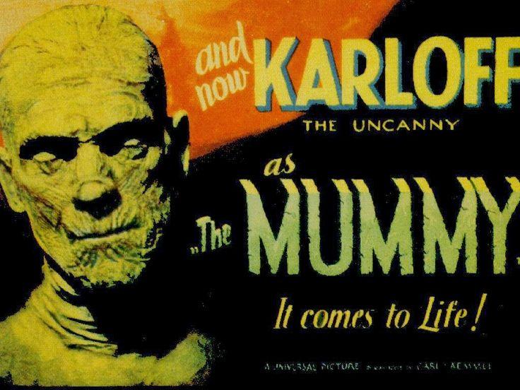 Les recomendamos una pelicula clasica de terror, La momia, dirigida por Karl Freund en 1932 y con la actuacion estelar del gran Boris Karloff.