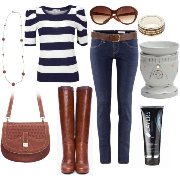 """""""Weekend getaway with Grace Adele and Scentsy Fragrance"""" by rramos022205 on Polyvore"""