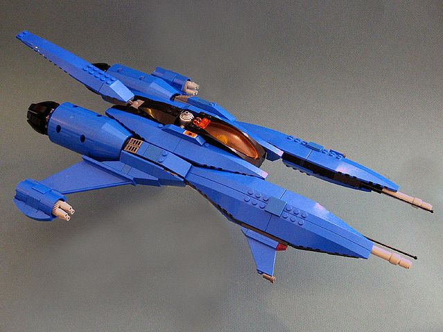 LEGO Blue Viper by Mike el Fabricante