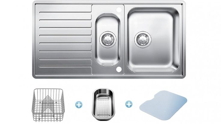 $699 Blanco Reversible Sink and Accessories Pack - Sinks & Taps - Kitchen Appliances | Harvey Norman Australia