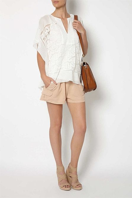 Women's Tops, Tees & T-Shirts   Witchery Online - Lace Kimono Top