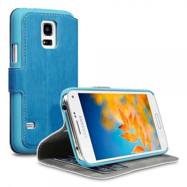 Θήκη Πορτοφόλι Samsung Galaxy S5 mini by Covert - (117-002-716) Γαλάζιο - myThiki.gr - Θήκες Κινητών-Αξεσουάρ για Smartphones και Tablets - Χρώμα Γαλάζιο