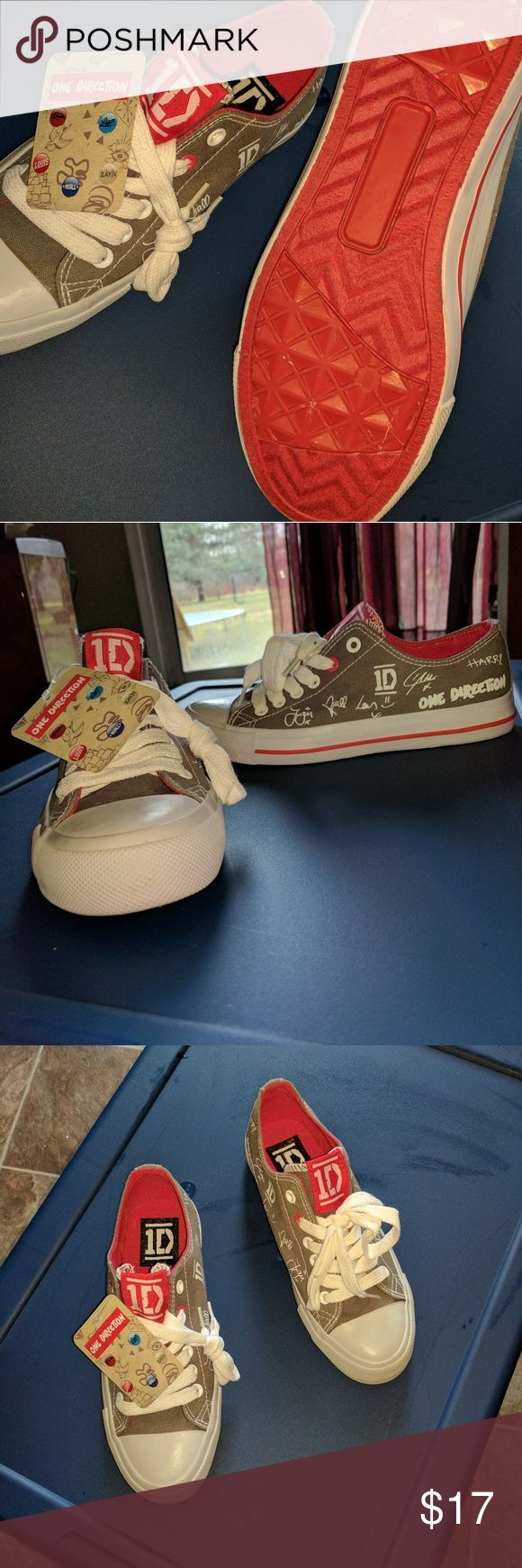 One Direction Shoes 1 year old been sitting, bought for step daughter and were too small. Shoes Sneakers