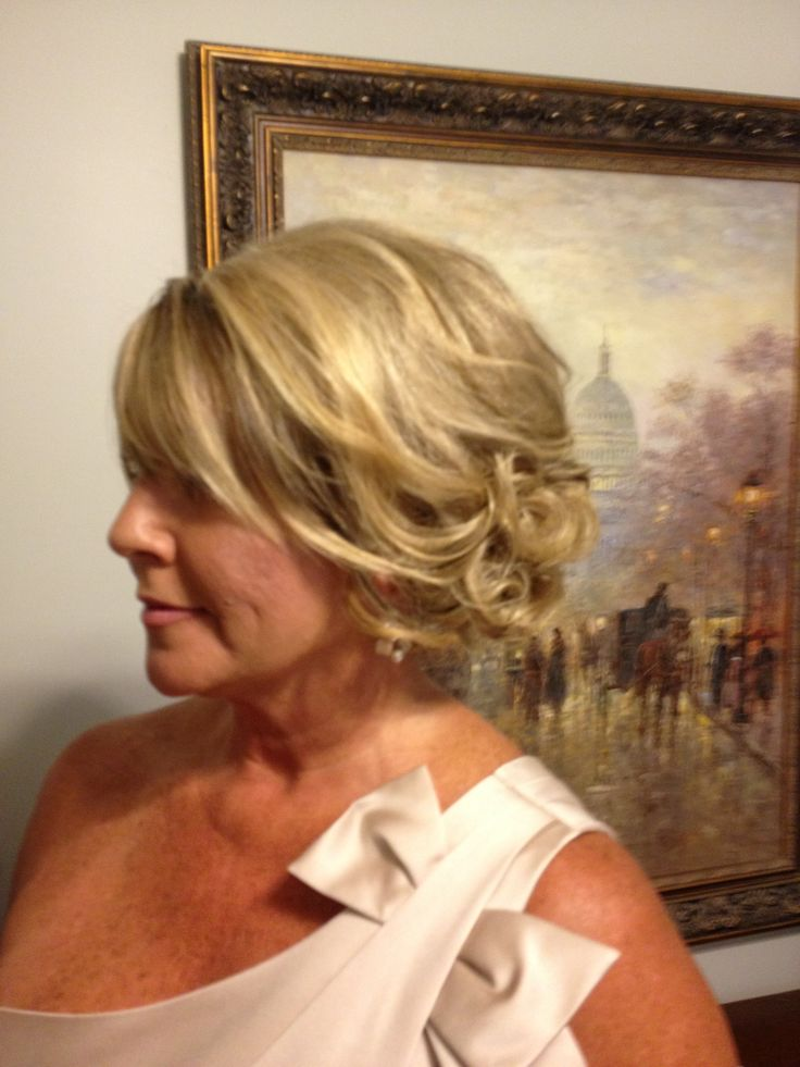 Mother of the bride hair!!!! LOVE!!!!!! Definite possibility!!!!!!