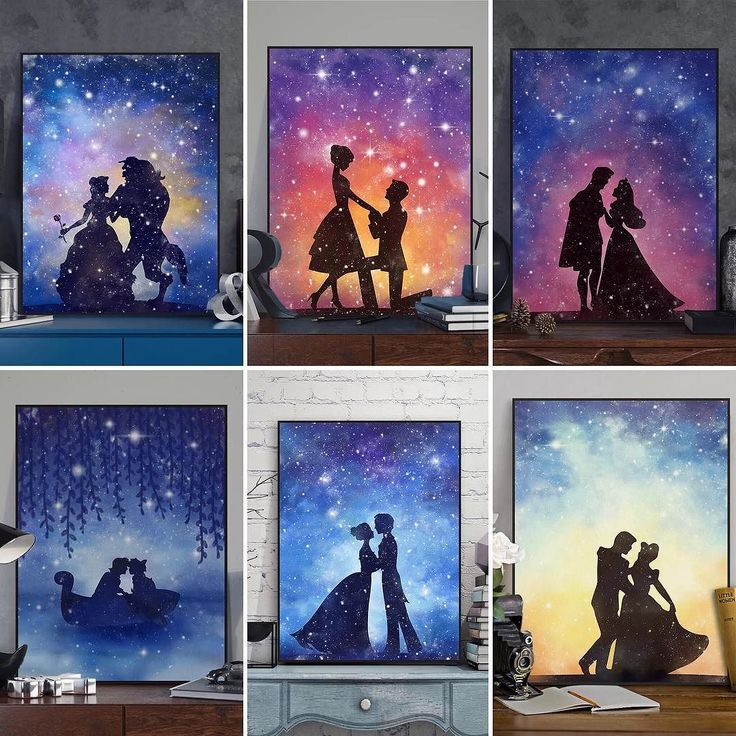 Watercolor Princess and Prince Love Under The Stars Series #love #photooftheday #amazing #picoftheday #girl #bestoftheday #colorful #style #like4like #art #illustration #beautiful #artoftheday #prince #princess #star #romantic #artprints #artwork #mildart #poster #uniquegift #wallart #homedecor #painting #watercolor #wedding #collection #weddingdecoration #fairytail via www.mildart.com