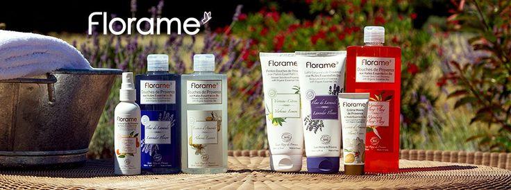Florame cosmetics.