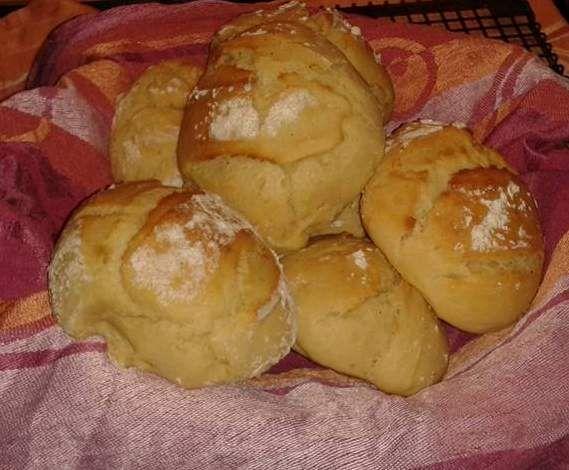 Rezept Kartoffel-Buttermilch-Brötchen von Buttermilchschnitte - Rezept der Kategorie Brot & Brötchen