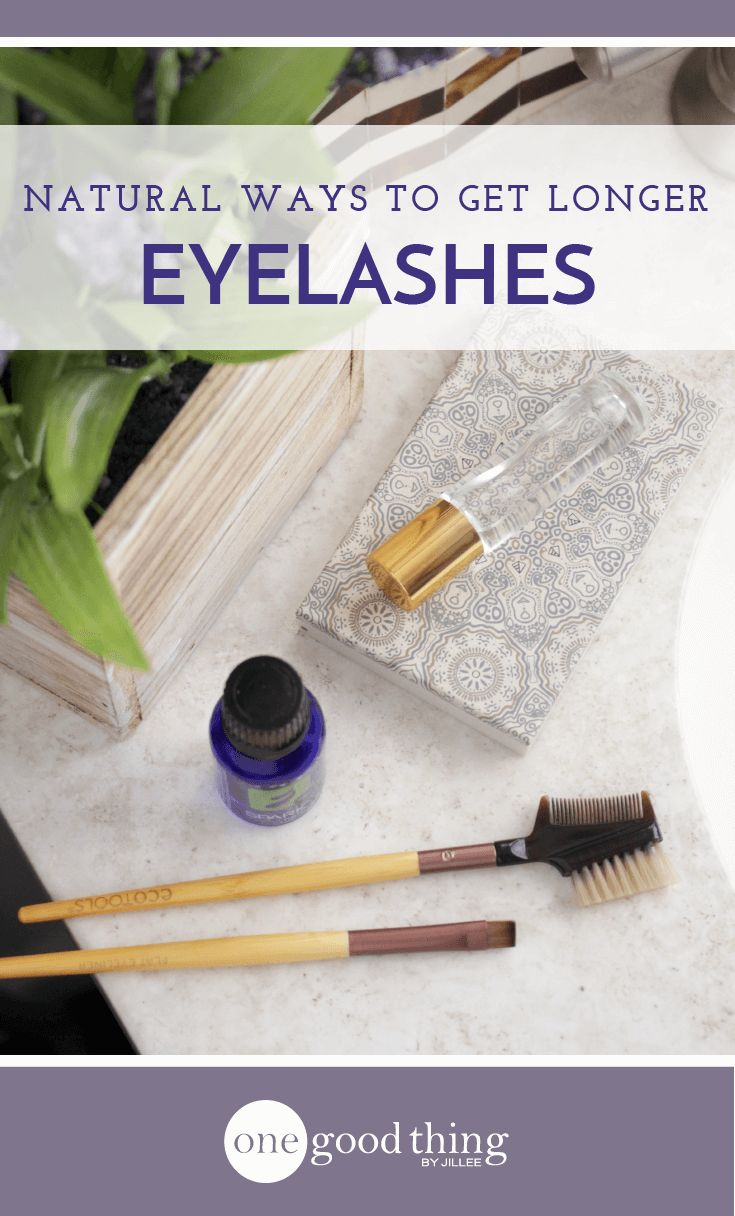 Check out these 5 natural ways to promote the growth of your eyelashes! Plus I'll show you how to make a homemade serum for luscious lashes.