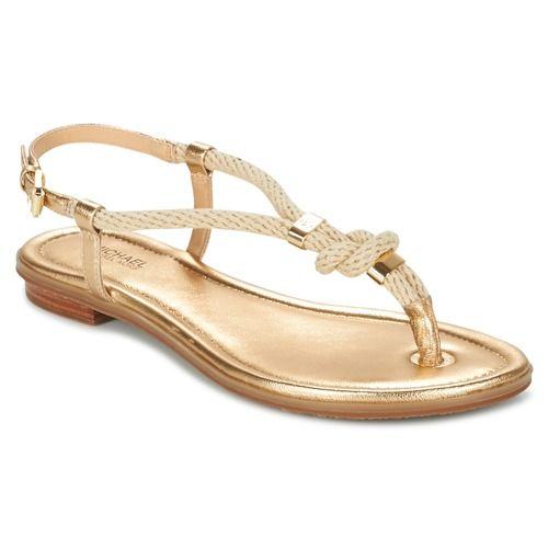 MICHAEL Michael Kors HOLLY Arany - Ingyenes Kiszállítás a SPARTOO.HU-mal ! - Shoes Szandál Noi 29 028 Ft