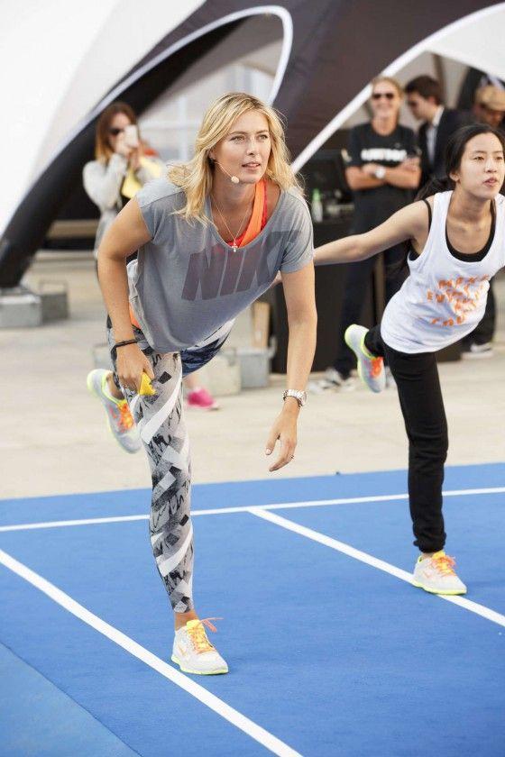 Maria Sharapova Photos: Nike New Year Crush campaign -07