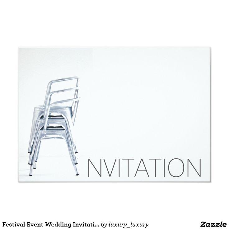 Festival Event Wedding Invitation Vip Invitation