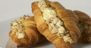 Mild Honey Dijon Chicken Croissant with Colby Cheese