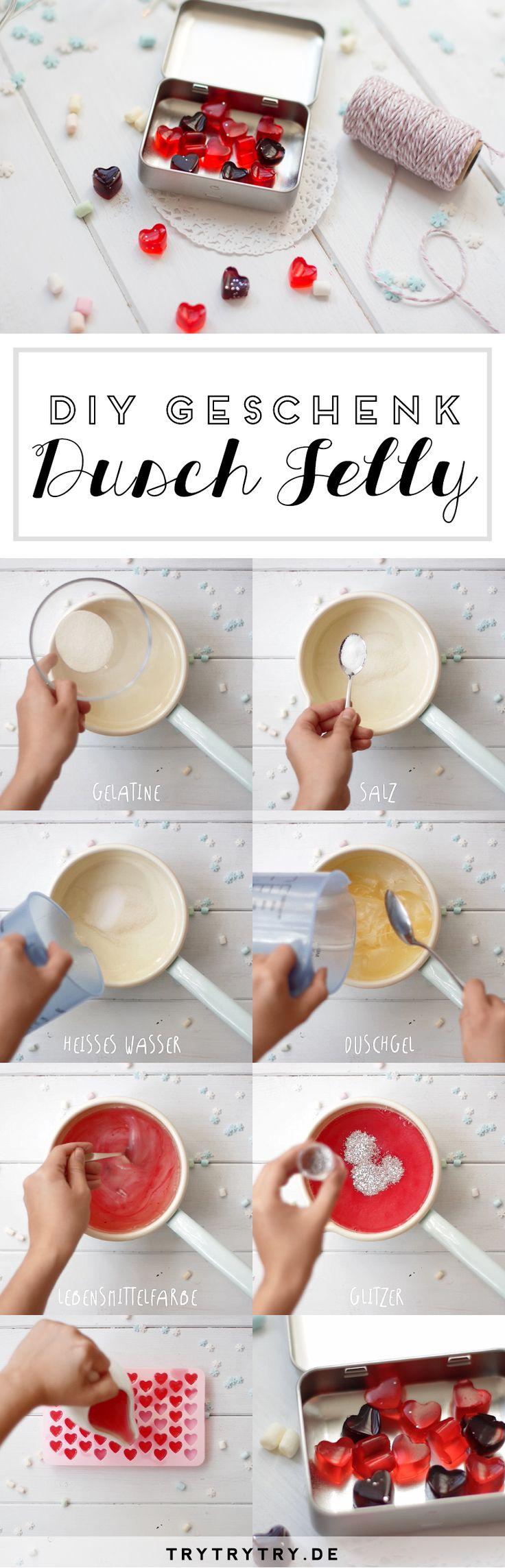 DIY Dusch Jelly wie von LUSH zum Verschenken