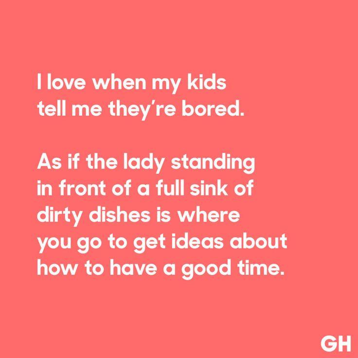 Bored Kids  - GoodHousekeeping.com