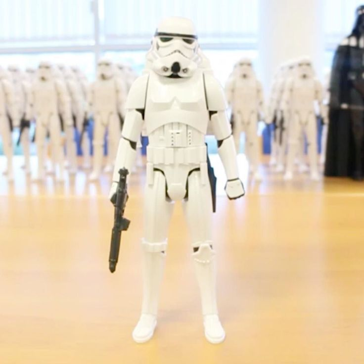 What do you think of this Star Wars Interactech Imperial Stormtrooper 30cm Figure?  www.SmythsToys.com  #smyths #smythstoys #smythstoyssuperstores #toystagram #heyletsplay #ifiwereatoy #oscar #love #uk #ireland #toys #fun #instagood #stormtrooper #starwars #rogueone #gorogue