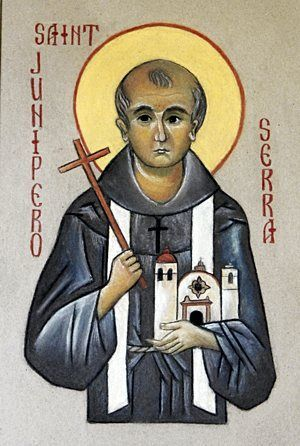 Happy Feast Day of St Junipero Serra – July 1 #pinterest Enter politics: the threat of a Russian invasion south from Alaska. Charles III of Spain ordered an expedition to beat Russia to the territory. So the last two conquistadors—one military, one spiritual—began their quest. José de Galvez persuaded Junipero to set out with him for present-day Monterey, California. The.........