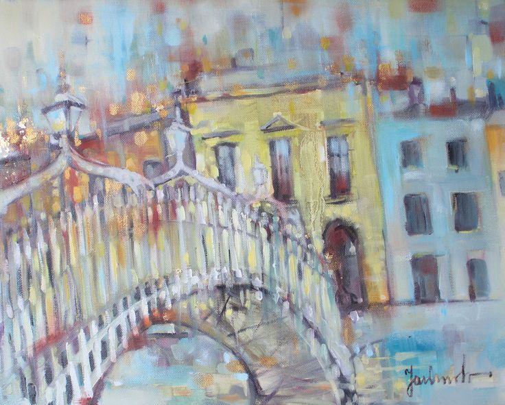 Ha'penny bridge.