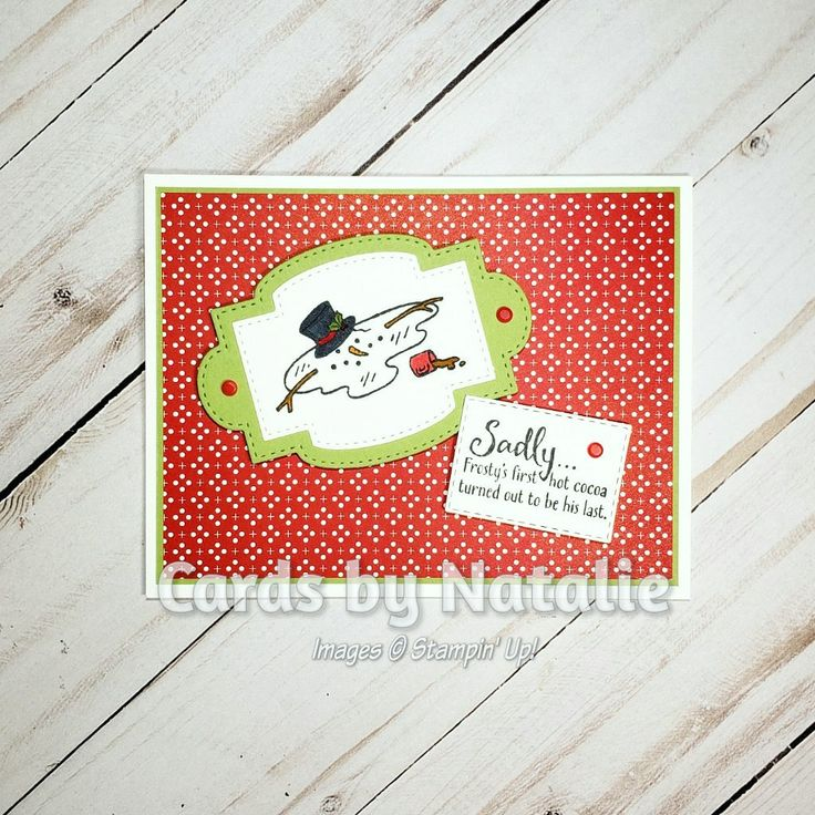 Stampin Up Don't Stop Believin in 2020 Diy christmas