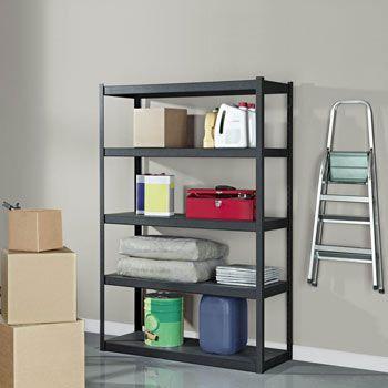 costco uk whalen 5 tier 48 121cm step beam heavy duty storage rack garage pinterest. Black Bedroom Furniture Sets. Home Design Ideas