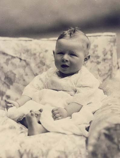 King Michael of Romania, only child of King Carol II and Princess Helen.  Michael would be the last Romanian monarch.