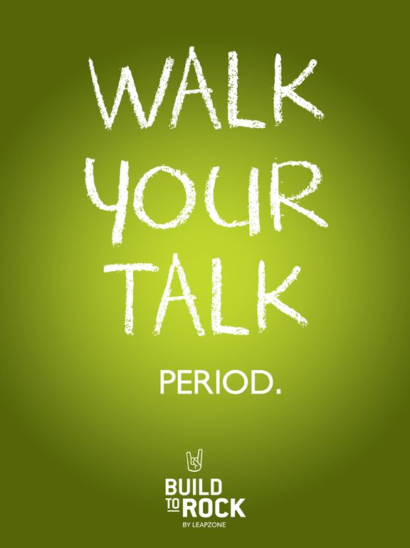 Walk Your Talk. Period. The business side of business doesn't need to dim your bulb. At Build To Rock™, we believe that becoming a powerhouse small business owner is one of the most enjoyable and rewarding journeys ever! Developing business skills and instincts is of course serious stuff, but it doesn't have to be boring or worse, eat you alive!