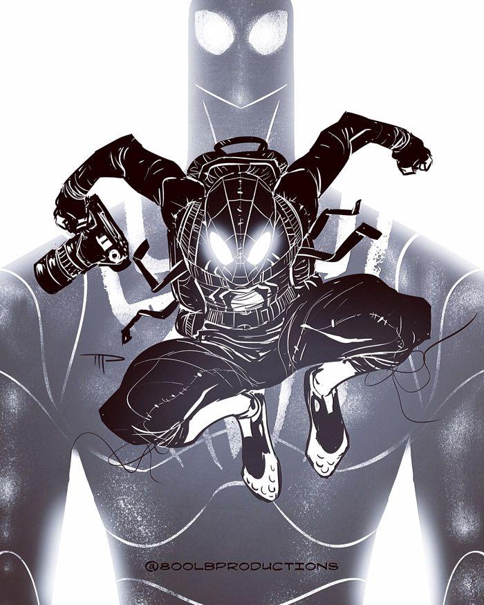 Stealth Suit Spider-Man - Michael Pasquale