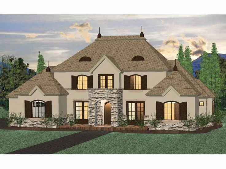 eplans french country house plan four bedroom french country 2521 square feet and 4 bedrooms from eplans house plan code upstairs is small