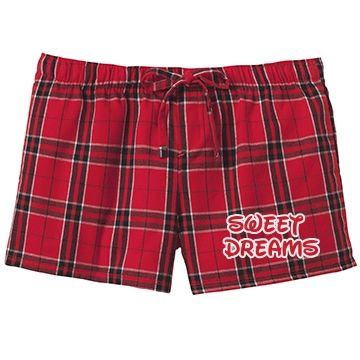 Sweet Dreams (Red) SarahBe Designs #customizedgirl #red #sweetdreams #pajama #shorts