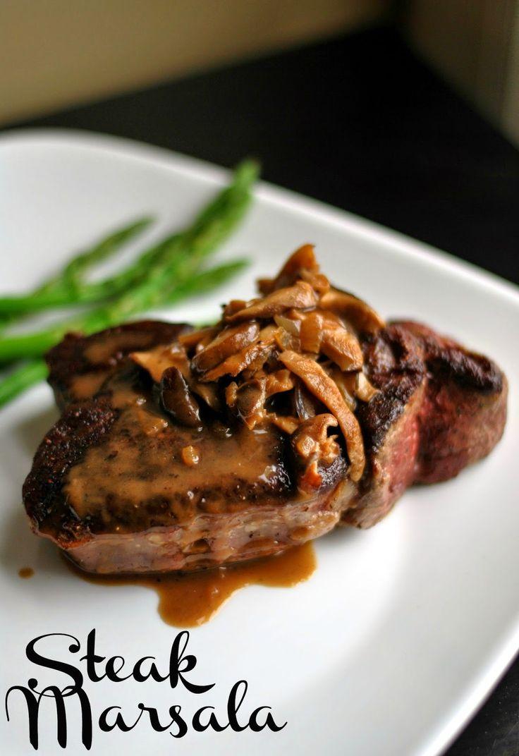 Steak Marsala   Aunt Bee's Recipes