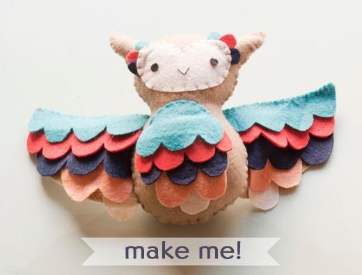 DIY  Make Your Own Owl