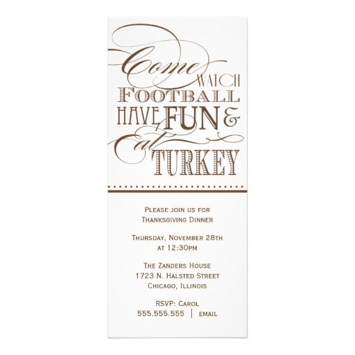 46 best invites images on pinterest invites dinner party script thanksgiving dinner invitation stopboris Choice Image