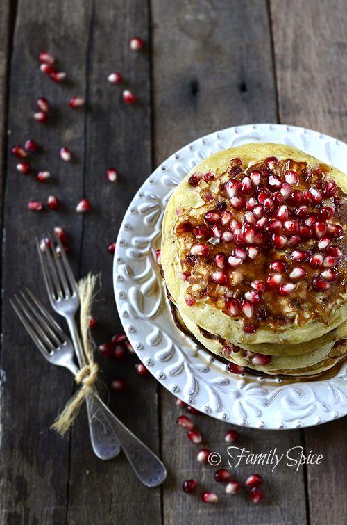 Pomegranate Pancakes | Sweet sweet food | Pinterest