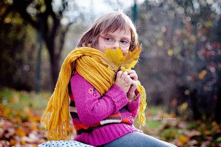 Autumn Child Portrait