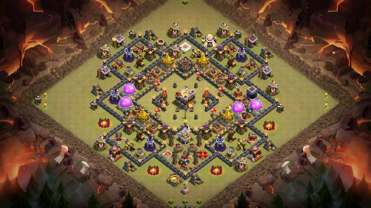 Th 11 War base - pre Oct 2016 update