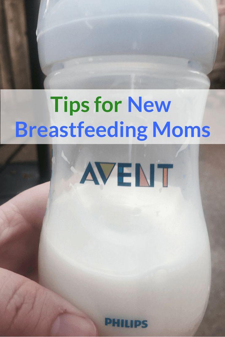 Tips for New Breastfeeding Moms | #AventMoms