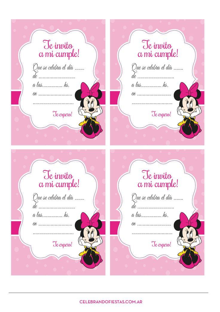 Invita a los niños a la fiesta de cumpleaños de tu peque con esta original invitación. #cumpleaños #invitaciones
