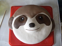 chocolate meerkat cake