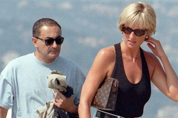 Pregnant: Princess Diana and Dodi Al Fayed in Saint Tropez