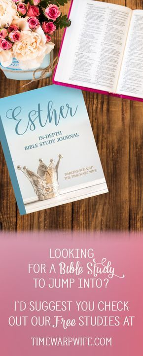 Esther Bible Study - FREE Bible Study Guide and Introduction