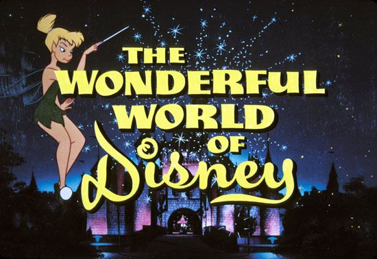 The Wonderful World of Disney~every Sunday night when I was a kid :)