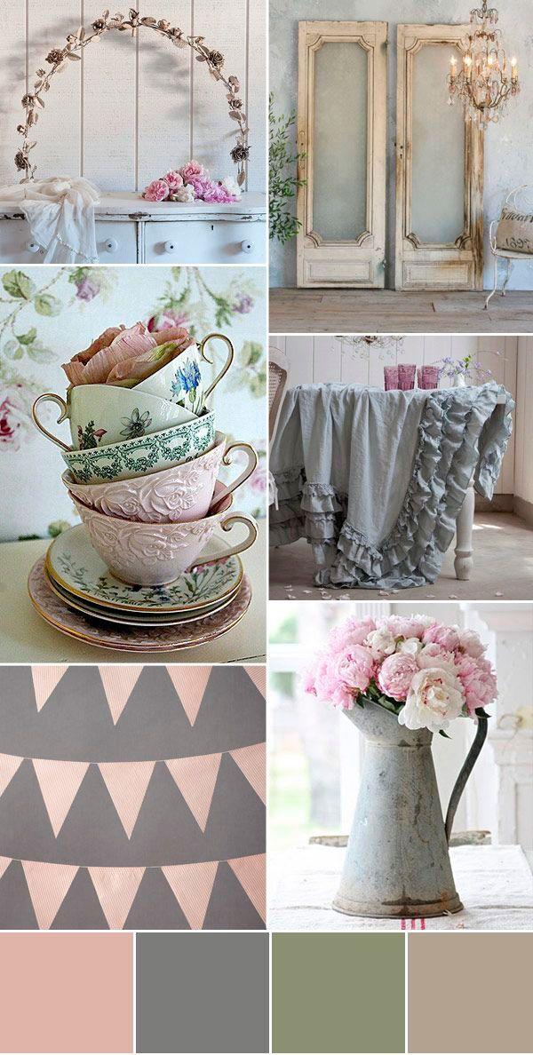 wedding palette grey