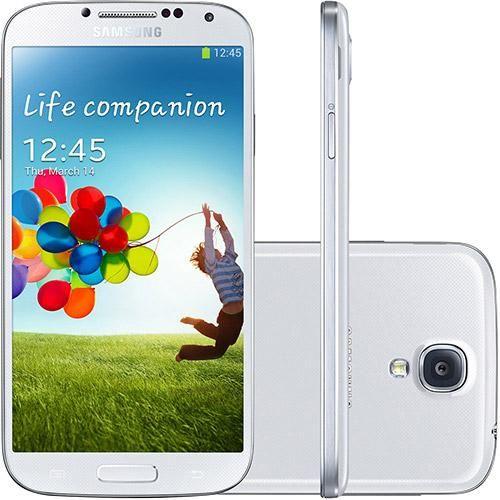 "Samsung Galaxy S4 Branco 16GB - 4G Smartphone DesbloqueadoAndroid 4.2 WiFi Câmera de 13MP Tela 5"" Full HD  http://www.mreletro.khia.com.br/"