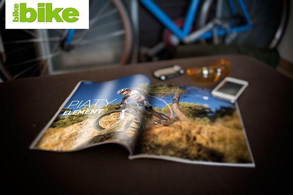 Bike Magazine / editorial  by mike kemada, via Behance