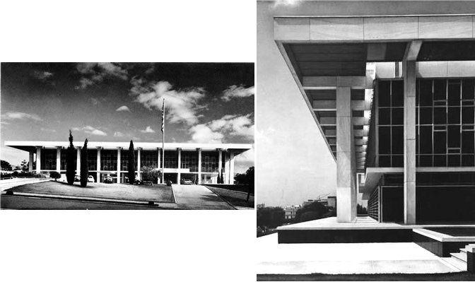 EMBAJADA DE EEUU EN ATENAS (1960) - ATENAS /GRECIA