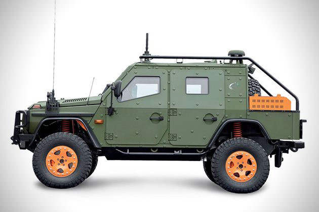 벤츠 G바겐의 군용차량 버전? - 제품으로 보는 세상의 안테나, 펀테나