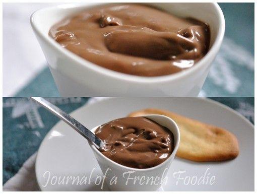 Crème Danette Au Chocolat (Chocolate Cream)
