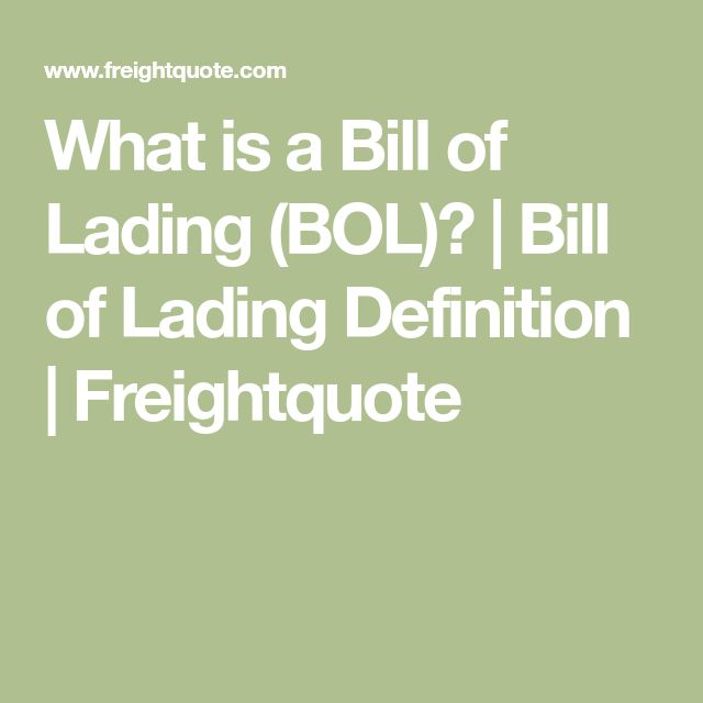 The 25+ best Bill of lading ideas on Pinterest Bill of sale - bill of lading templates