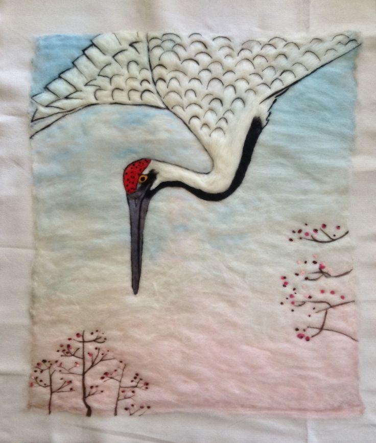 """Leitura em Lã """" Hiroshige"""""""